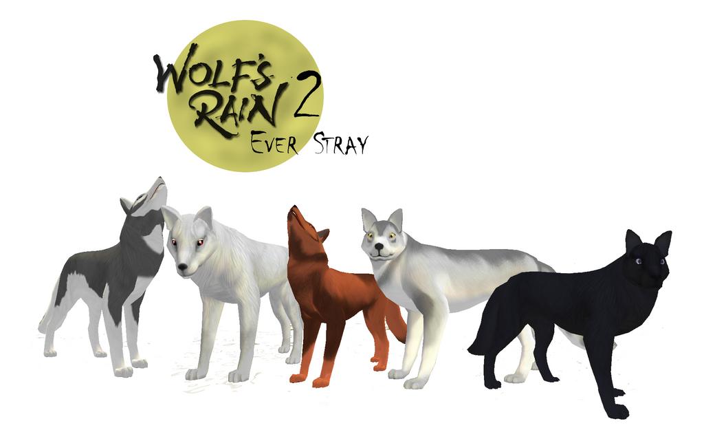 Crearé un nuevo Wolf's Rain con mis personajes de FH Wolf_group___feral_heart_version_by_ki_cortana-d5l9g36