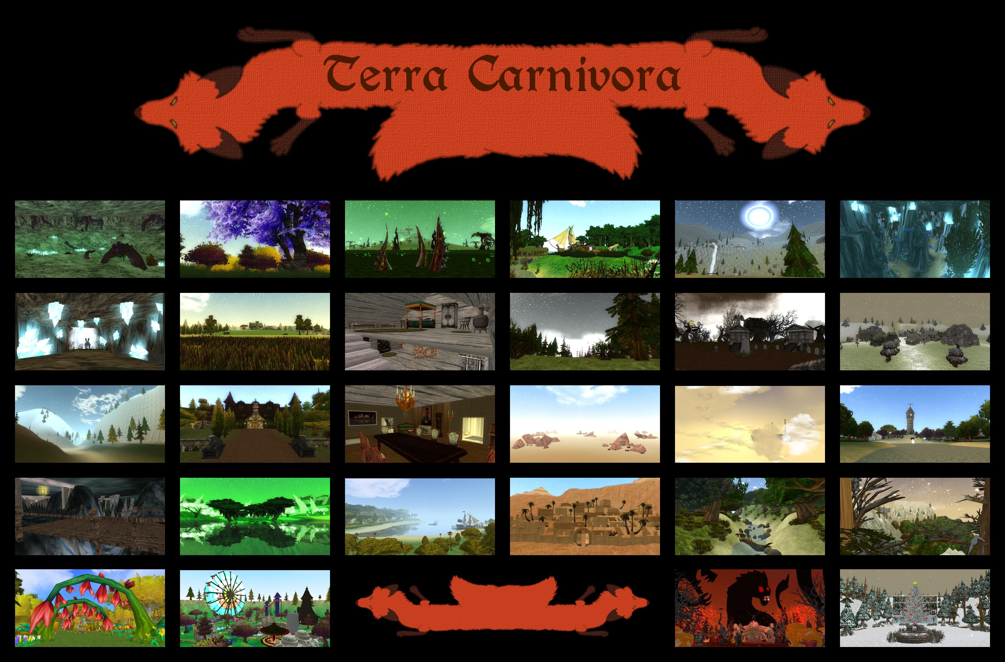 Terra Carnivora - Big Map Pack - Update by KI-Cortana