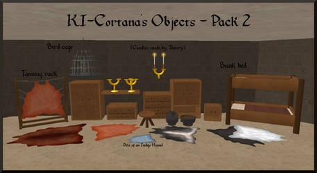 KI-Cortanas Objects for Feral Heart - Pack 2