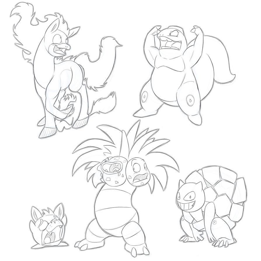 Pokemon Fusion by secoh2000