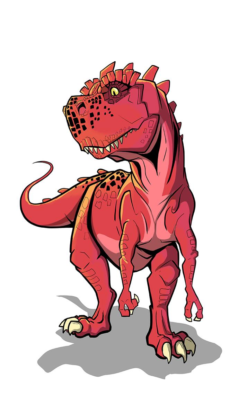 Devil Dinosaur by secoh2000