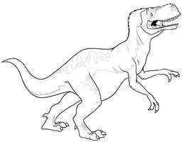 Dinovember - Giganotosaurus by secoh2000