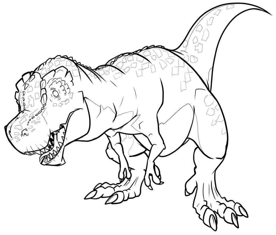 Dinovember - Devil Dinosaur by secoh2000