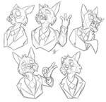 Butler Doodles