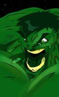 Coloured Hulk