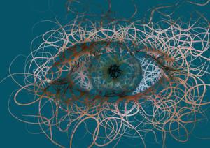 Eye abstract