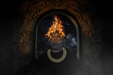 Darcie the fire bender