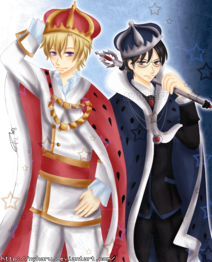 Ouran - Two Kings by nyharu