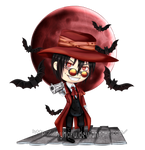 Commission - Chibi Alucard