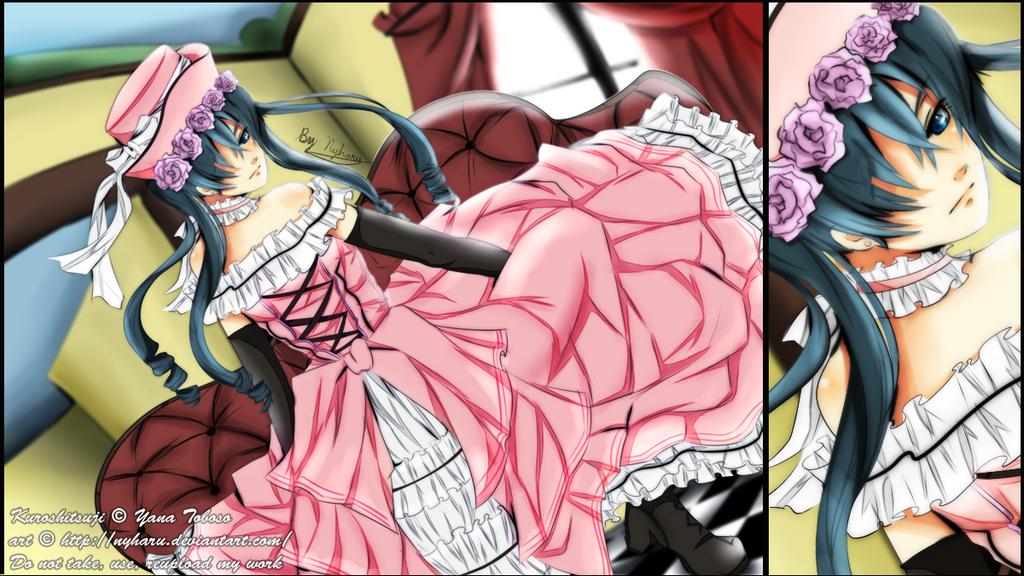 Kuroshitsuji - In pink by nyharu