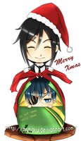 Kuroshitsuji - Wrapping presents