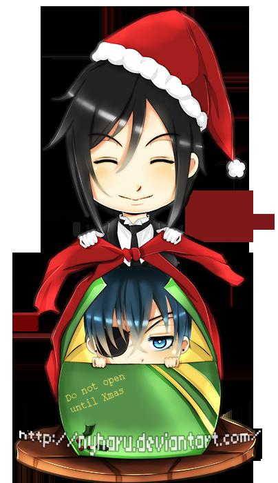 Kuroshitsuji - Wrapping presents by nyharu