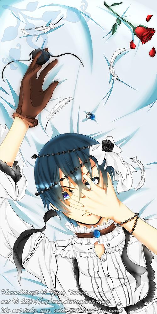 Kuroshitsuji - Lying down . . . by nyharu