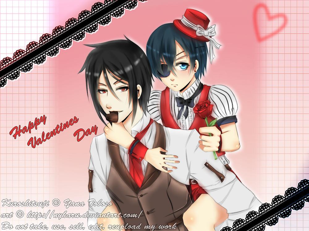 Kuroshitsuji - Valentine's 2013 by nyharu
