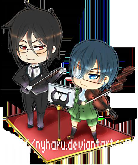 Kuroshitsuji - Violin lessons by nyharu