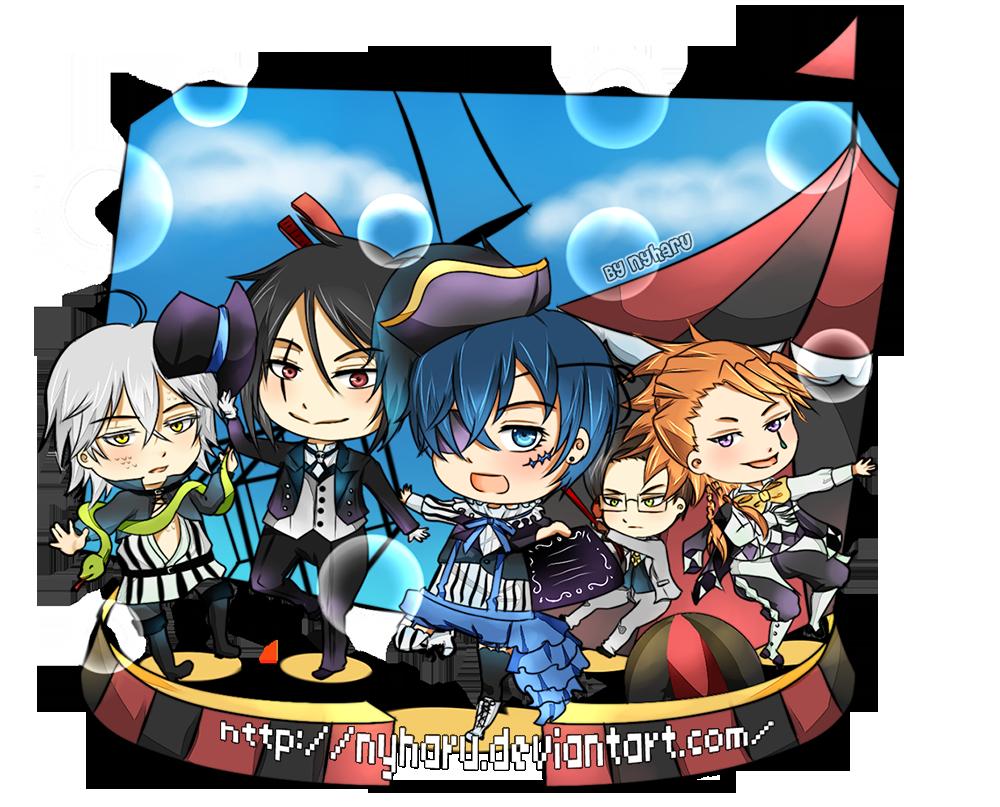 Kuroshitsuji Circus is Here!! by nyharu