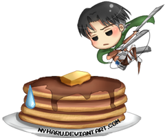 Attack of the pancakes by nyharu