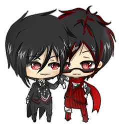 Sebastian and Runner by Suzumeny-chan