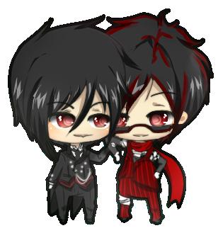 Sebastian and Runner by nyharu