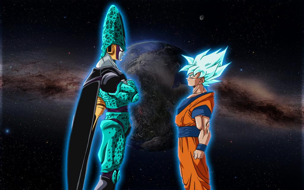 Dios Saiyajin vs Dios Perfecto by Gogeta4810