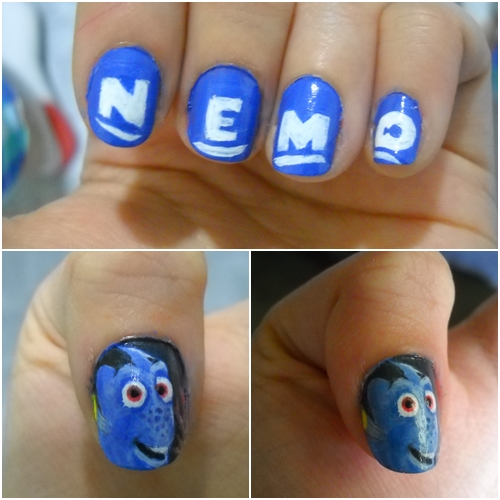 Finding nemo nails by dgippi4 on deviantart finding nemo nails by dgippi4 prinsesfo Gallery