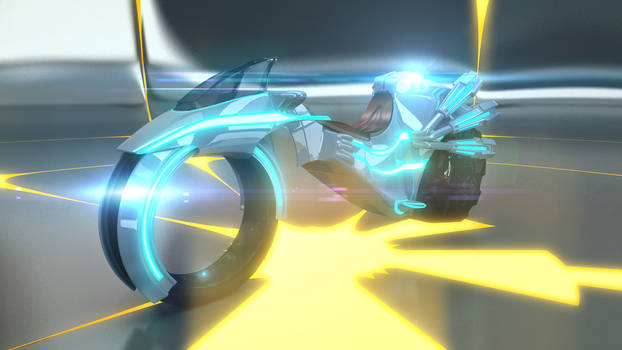 3ds Max - V-Ray ::: Tron Style