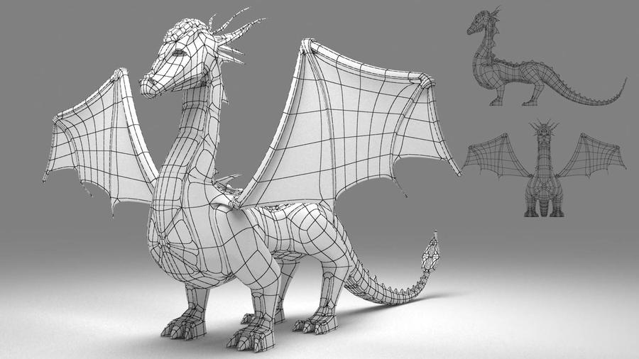 3ds max ejderha modelleme dragon modeling by for 3d blueprint creator