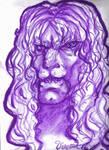 Purple Vincent sketch