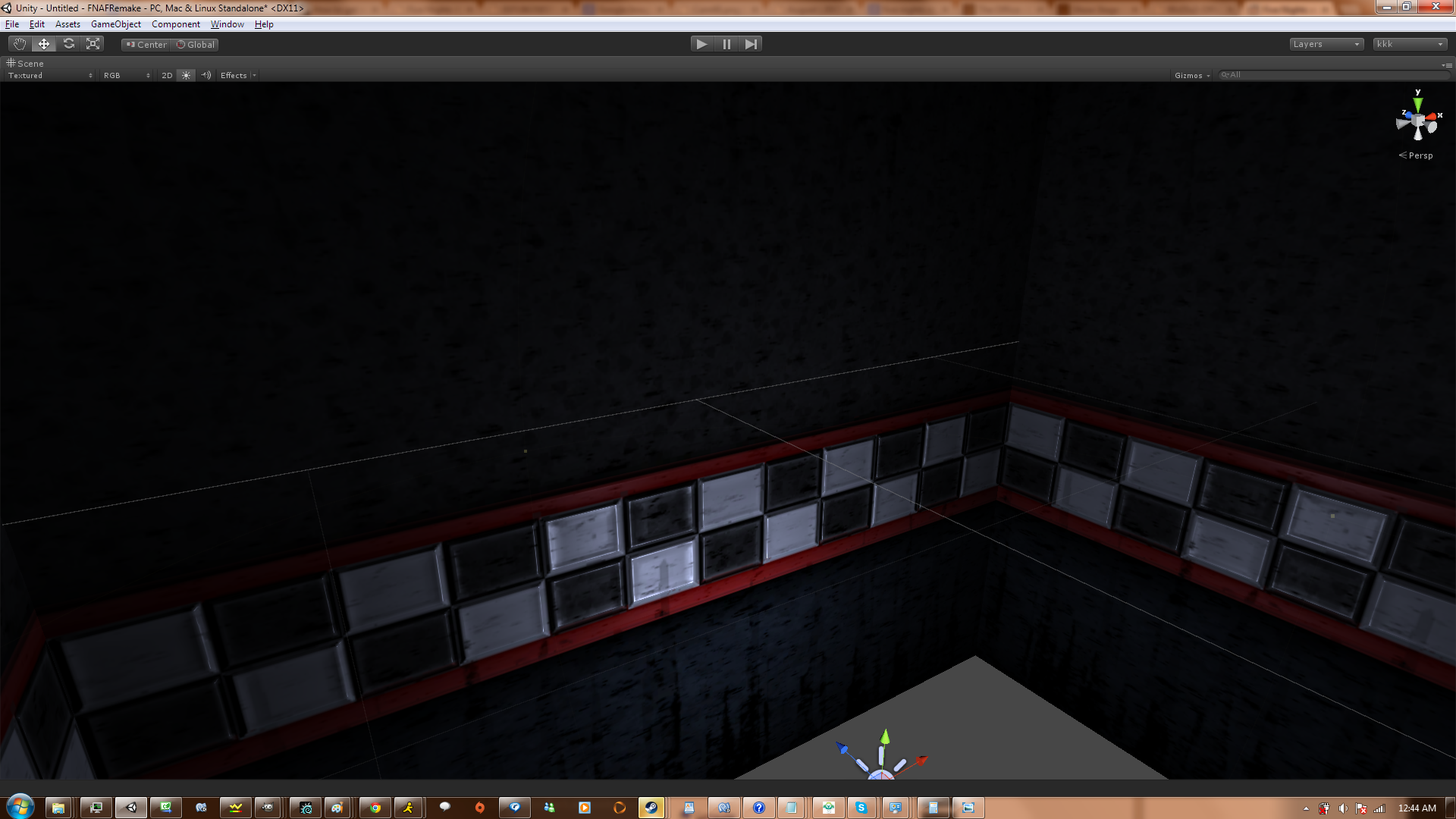 Reconstructing textures of the pizzeria from screenshots here s