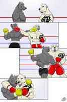 Commission wave 2:  Dark vs Bryce by GenshiTatsunora