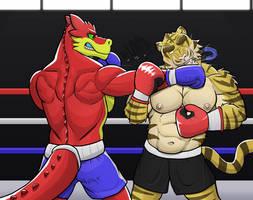 Dragos big knockout by GenshiTatsunora
