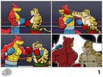 Commission wave 3: Dragon vs Tiger 1/4