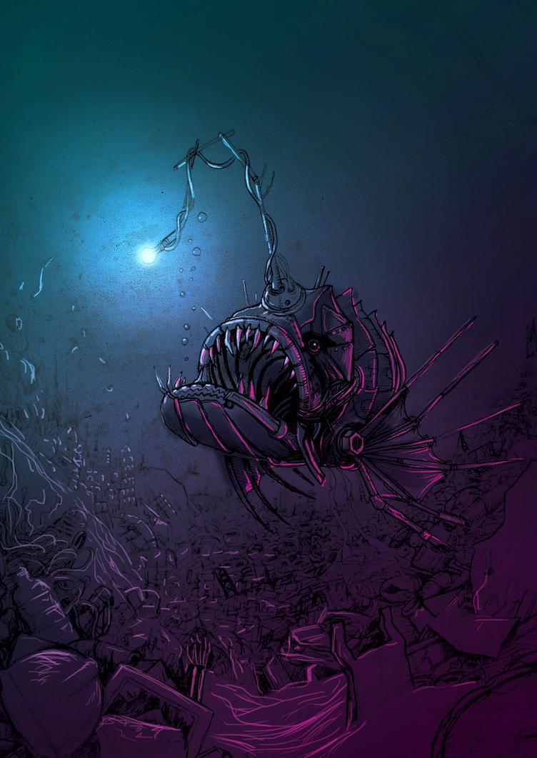 Trashfish by Zherj