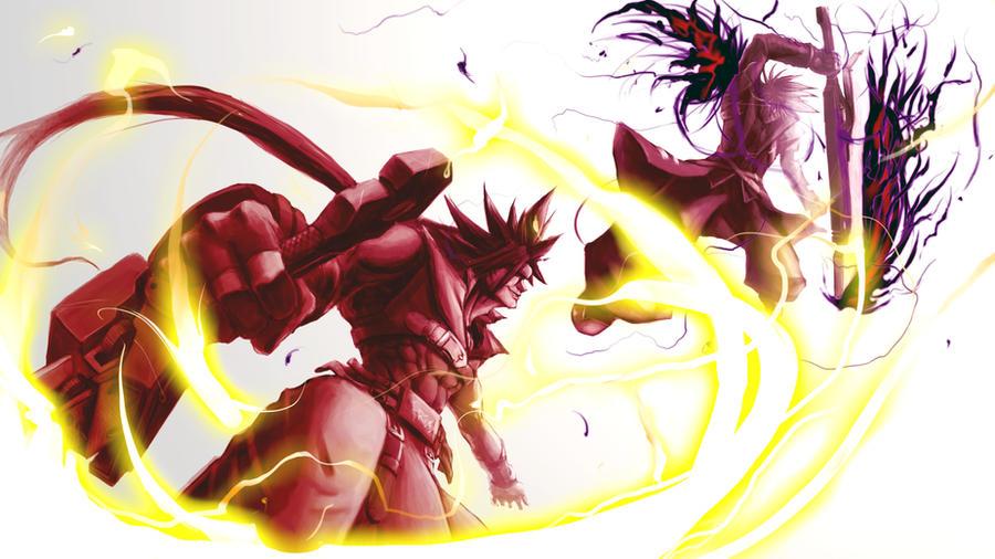 Sol Badguy vs Ragna