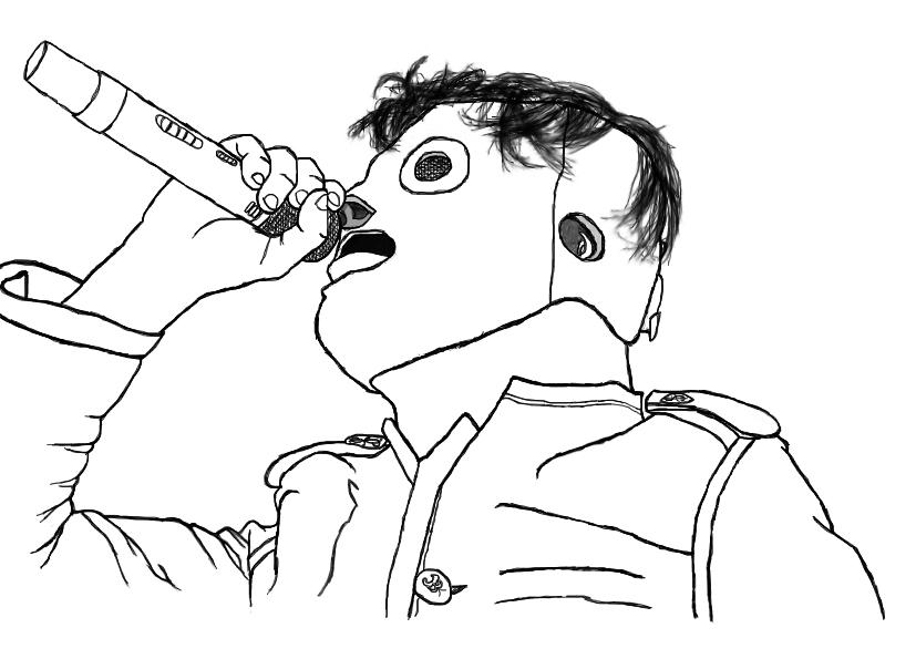 Corey Taylor , My 1st Sketch By Ilman360 On DeviantART