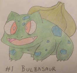 Bulbasaur - Professor Oak's Pokedex #1 by ProfOakPokedex