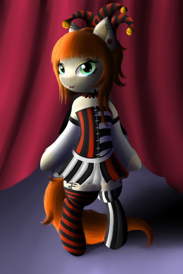 :Art Trade: The Harlequin by rko509