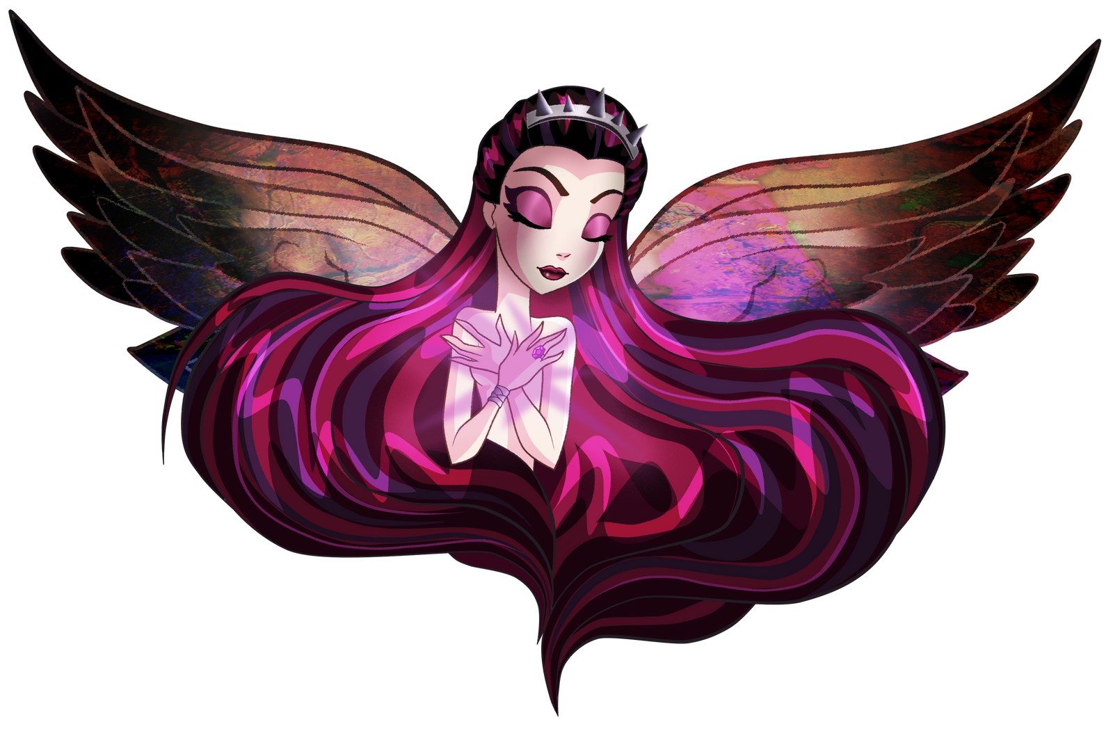 Ever after high raven queen wallpaper ever after high raven queen by