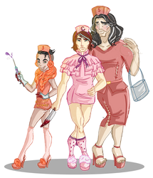 Isaac, Me and Tiktoker as Chanels