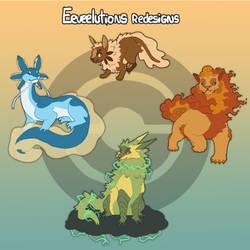 [Pokemon redesigns] Eeevelutions