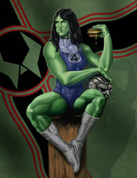 She Hulk by bodiego