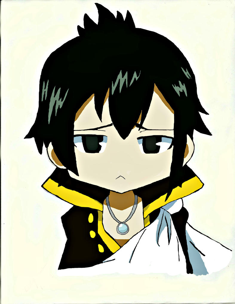 Chibi Zeref by Laina7 on DeviantArt