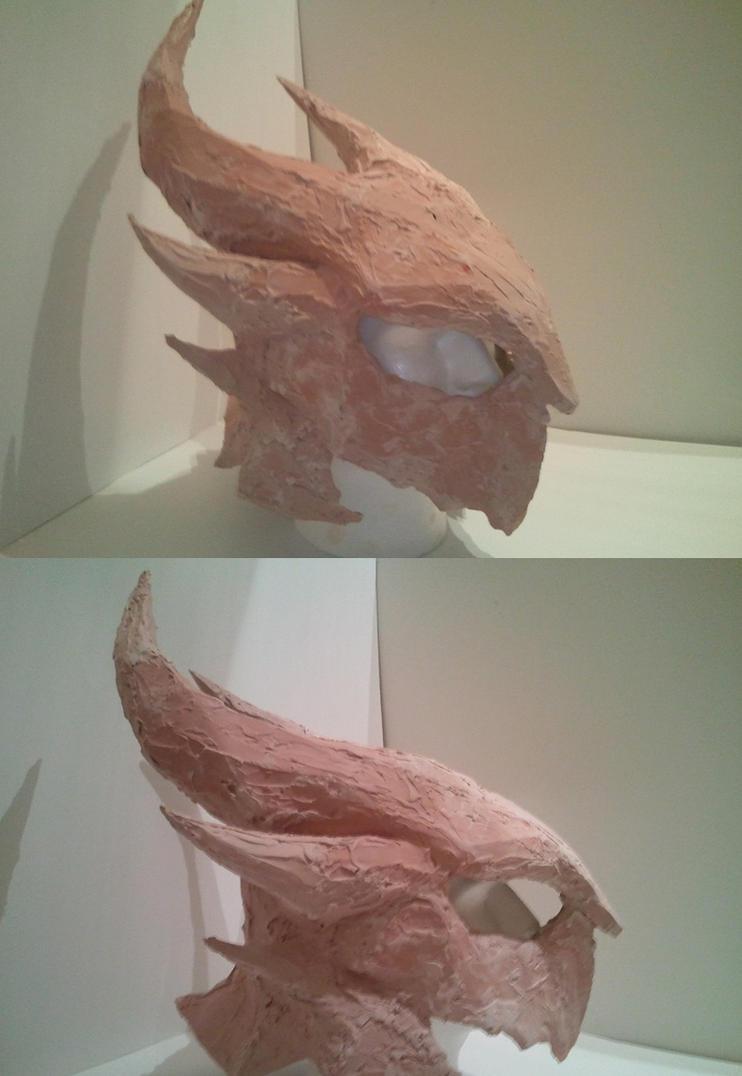 Daedric Helmet WIP by Kuraudo3