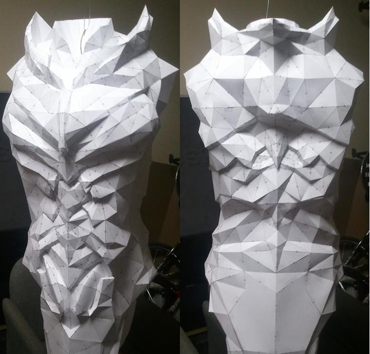 Daedric Armor WIP by Kuraudo3