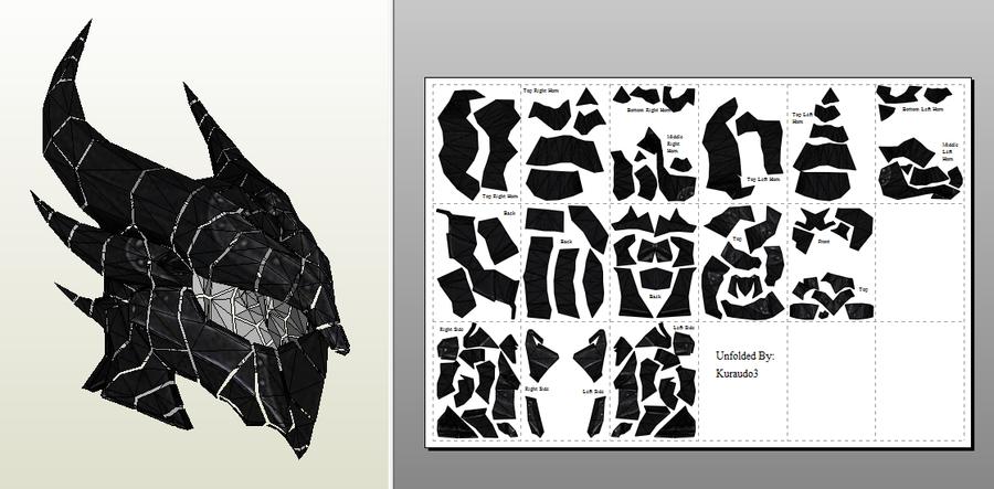 Daedric helmet v2 by kuraudo3 on deviantart daedric helmet v2 by kuraudo3 pronofoot35fo Image collections