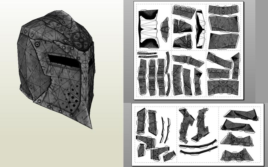 Dawnguard Helmet by Kuraudo3