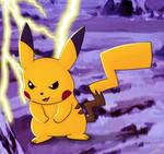 pikachu thunder attack