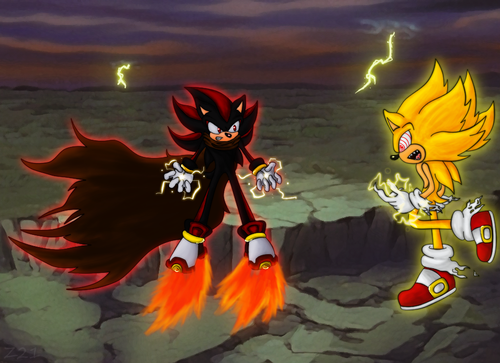 fleetway sonic vs sonic exe - photo #34