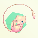 a wild mew appears!