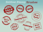 Rubber Stamp Brushes